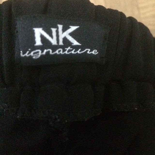collute kulot celana black