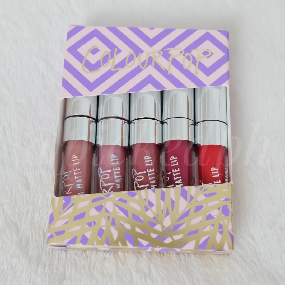 ColourPop mini lipstick set (travel size)