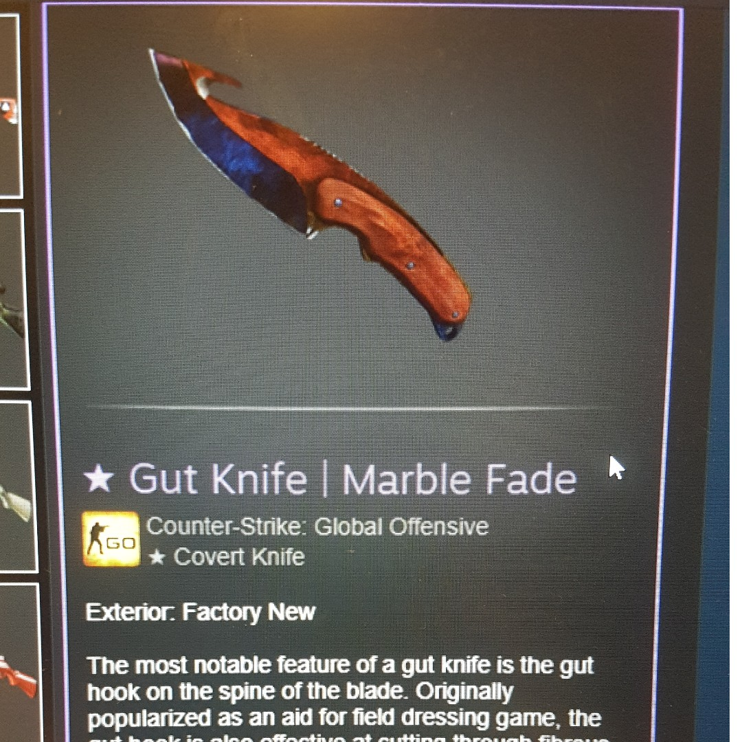 Csgo Skins Gut Knife Marble Fade Ak 47 Bloodsport M4a1 S Icarus