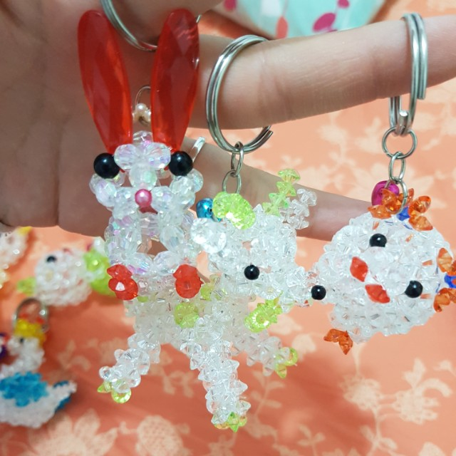 Cute adorable keychain charms