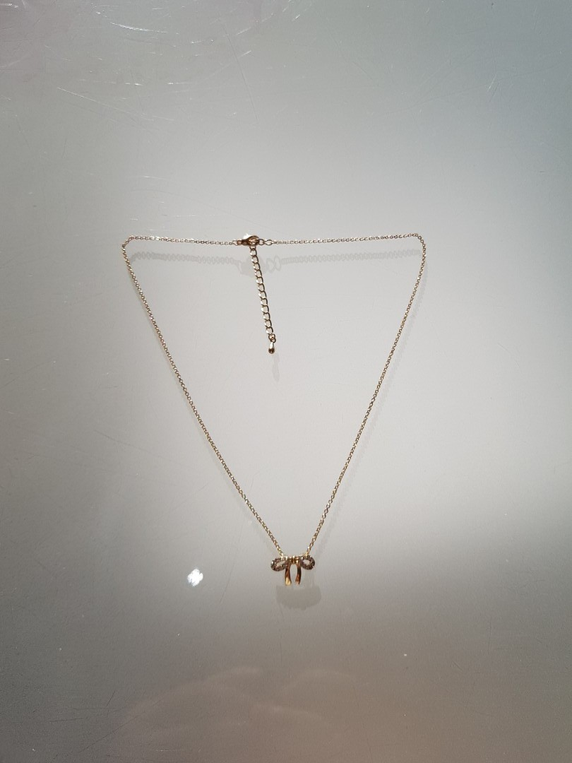 Delicate ribbon shaped necklace