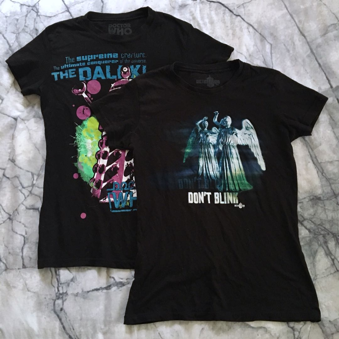 Doctor Who t shirts size S