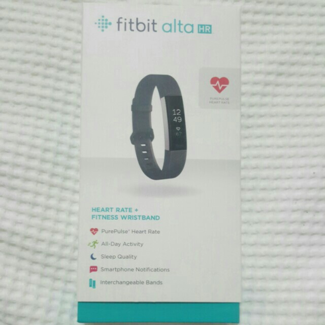 Fitbit Alta HR ( Heart rate) wristband