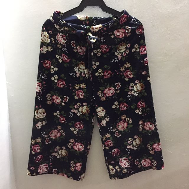 Floral Cullotes