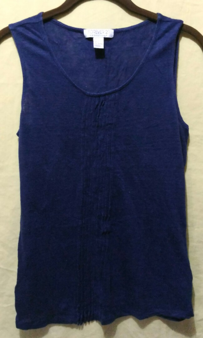 Forever 21 Navy blue top
