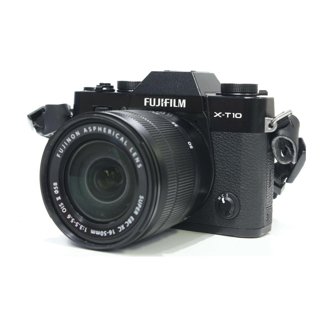 Fujifilm X T10 Kit Xc 16 50mm F3 Ceramic Tile A3 F35 56 Ois Ii Brown Photo