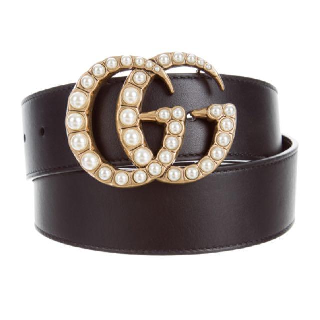 GG pearl belt