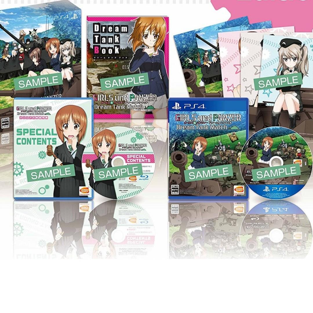 Girls und Panzer: Dream Tank Match Premium edition, Toys
