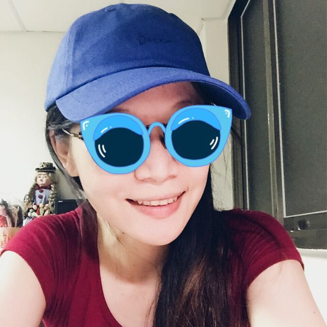 GU 棒球帽 藍