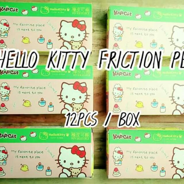 Hello Kitty Friction Pen
