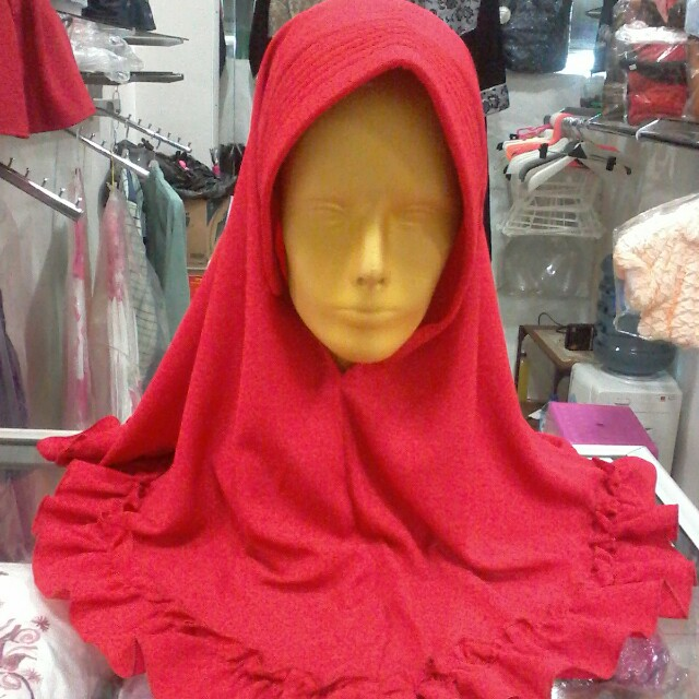 Hijab Instan Rumbai Manis Free Ongkir
