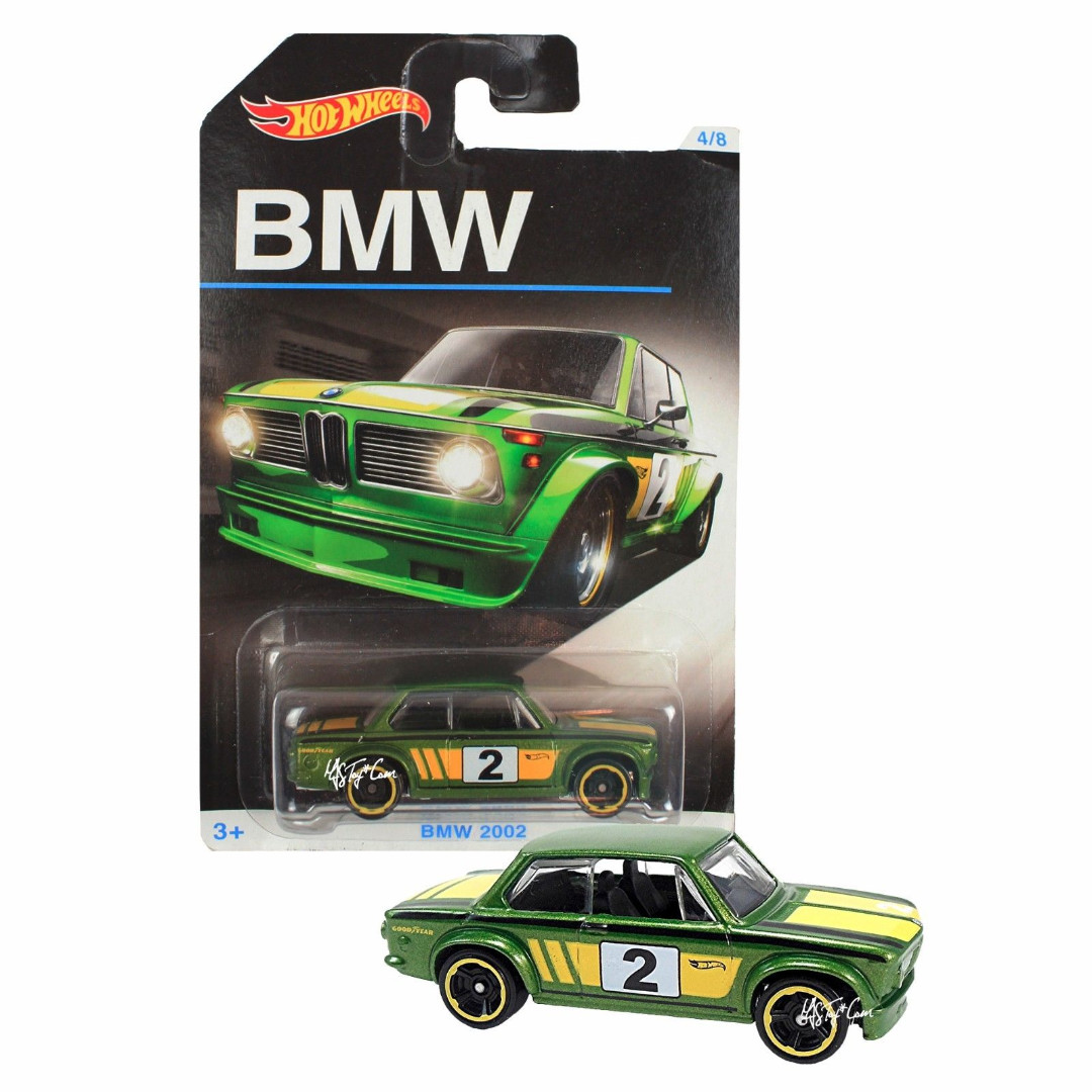 HOTWHEELS BMW ANNIVERSARY COLLECTIONS SERIES - GREEN BMW 2002 - RARE