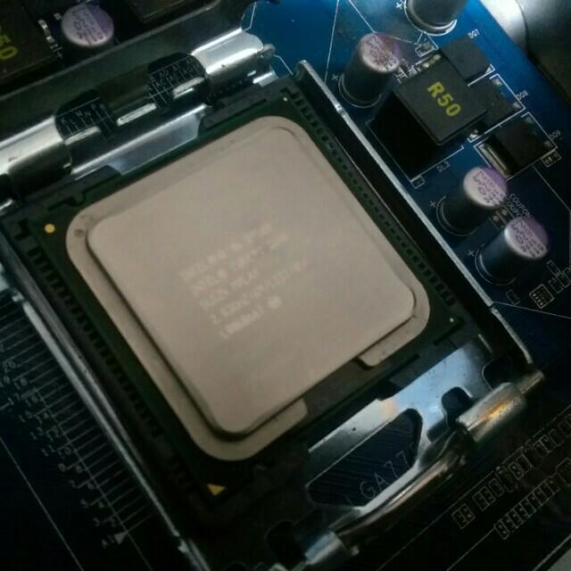 Intel Core 2 Q9500 2.83G CPU 電腦四核心處理器