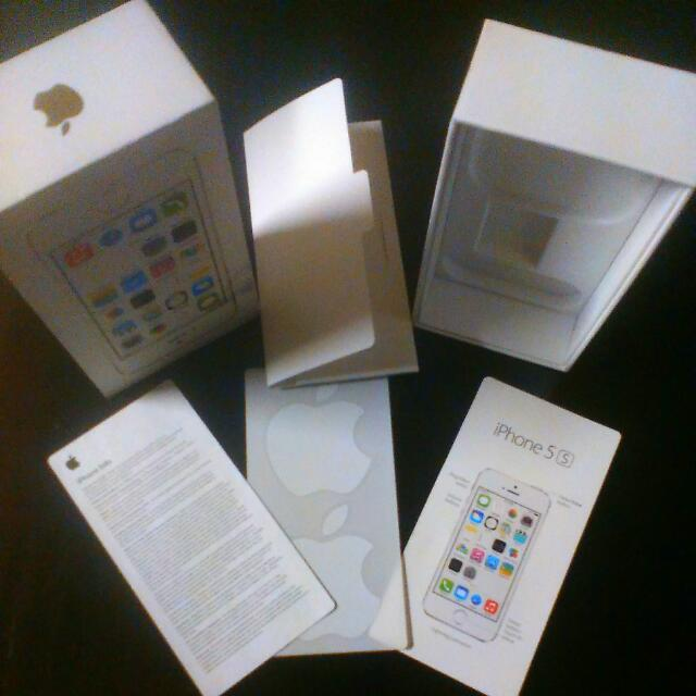 iPhone 5S Box Gold