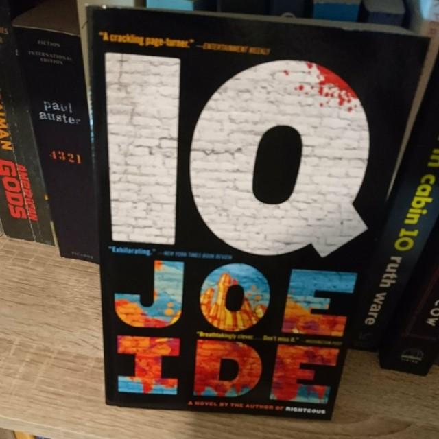 IQ / Joe Ide  原文 外文 小說