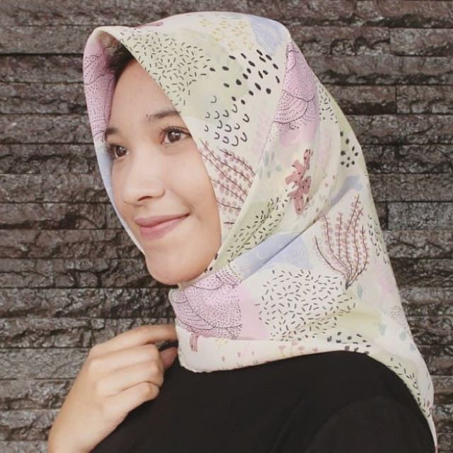 Jilbab cifon viney premium