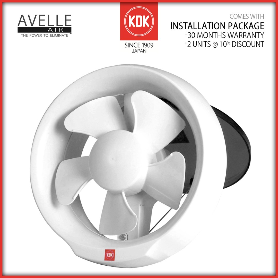 Kdk 15wud Installation Package Baseline Window Mounted Wiring A Bathroom Exhaust Fan Quotes Ventilation Furniture Others On Carousell