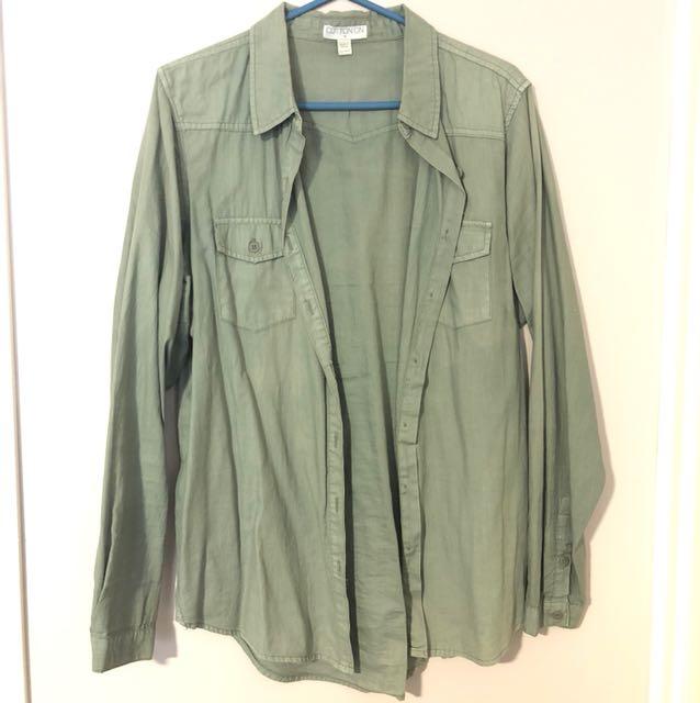 Khaki Green Shirt