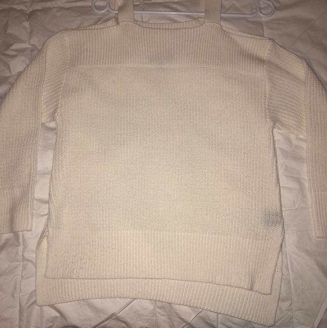 Knit Off Shoulder Long Sleeve