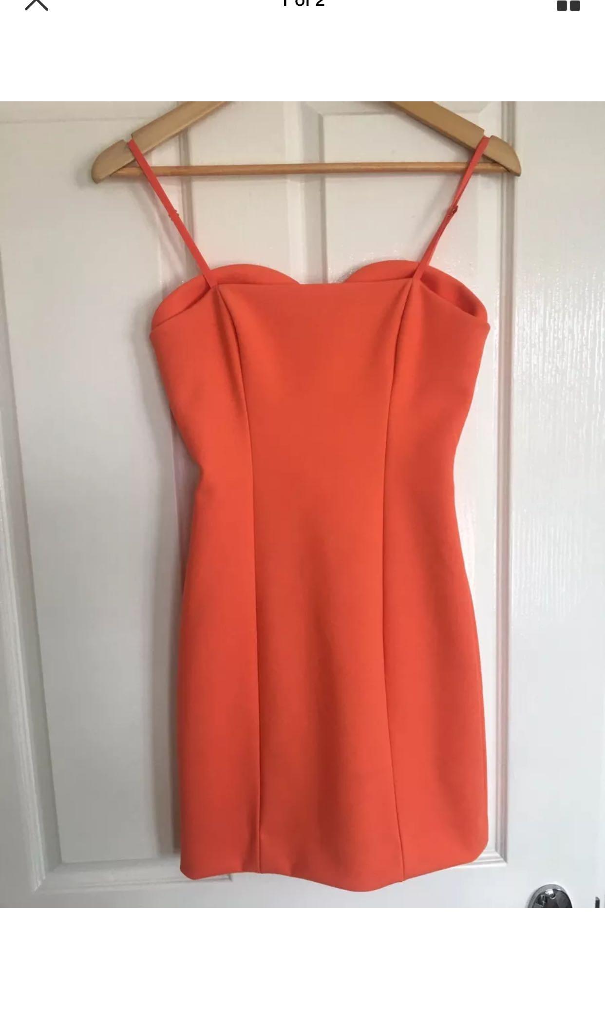 Kookai Tangerine Dress Size 36 6 Worn Once Only