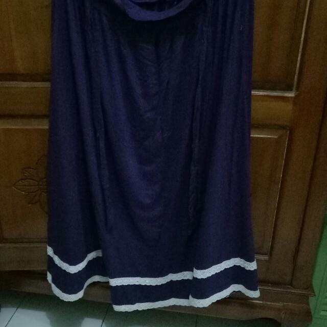 Long skirt renda
