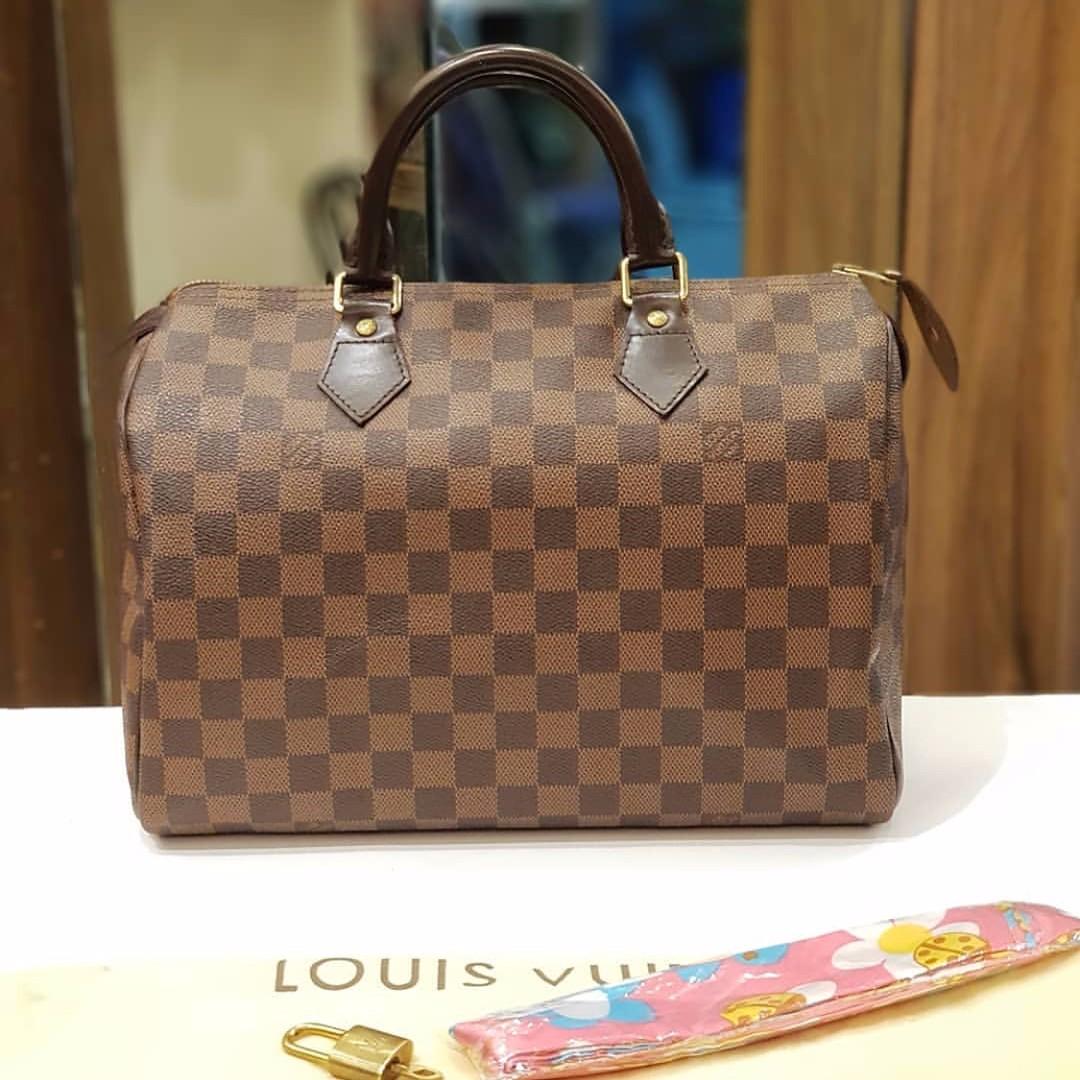 Louis Vuitton Speedy 30 damier ebene f632101f13b2f