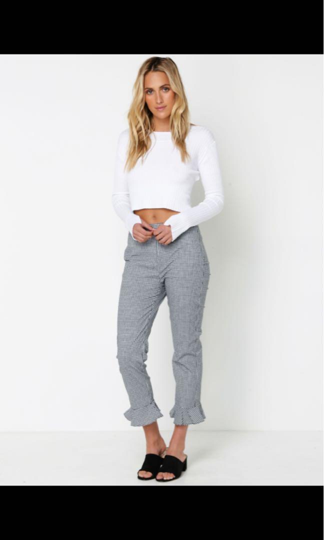 Lulu & Rose Gingham pants