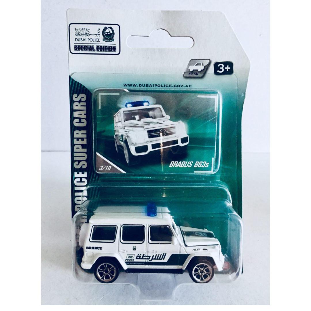 MAJORETTE DUBAI POLICE SUPER CAR SPECIAL EDITION - MERCEDES BENZ BRABUS B63S - RARE