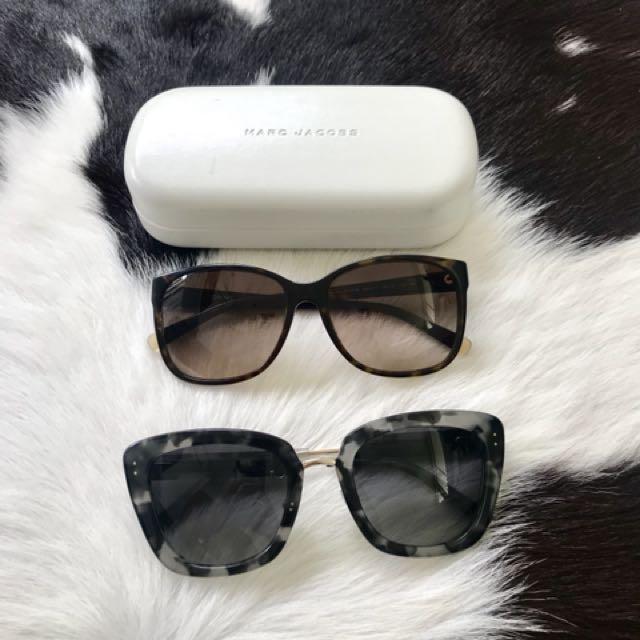 Marc jacobs and DKNY sunglasses