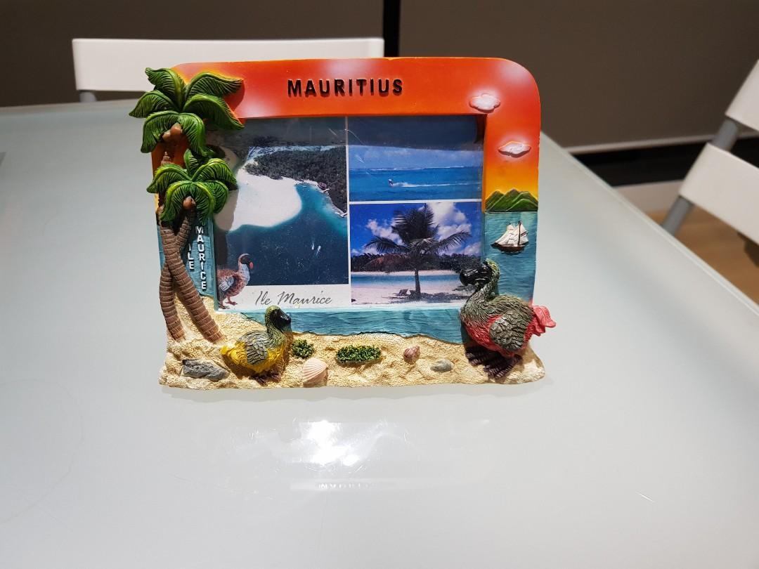 Mauritius photo frame