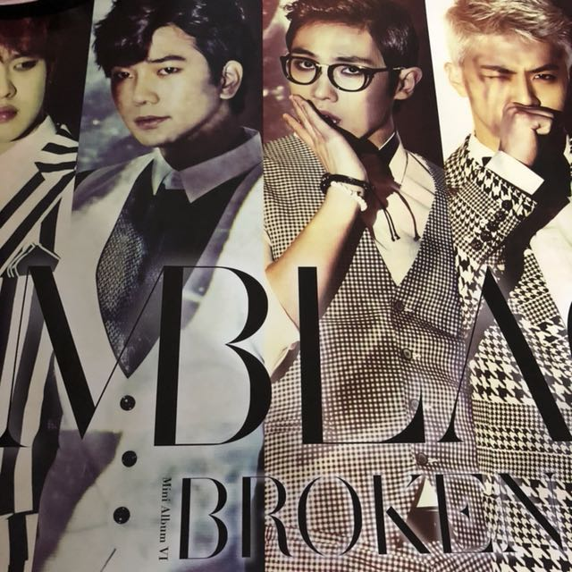 MBLAQ Official Poster