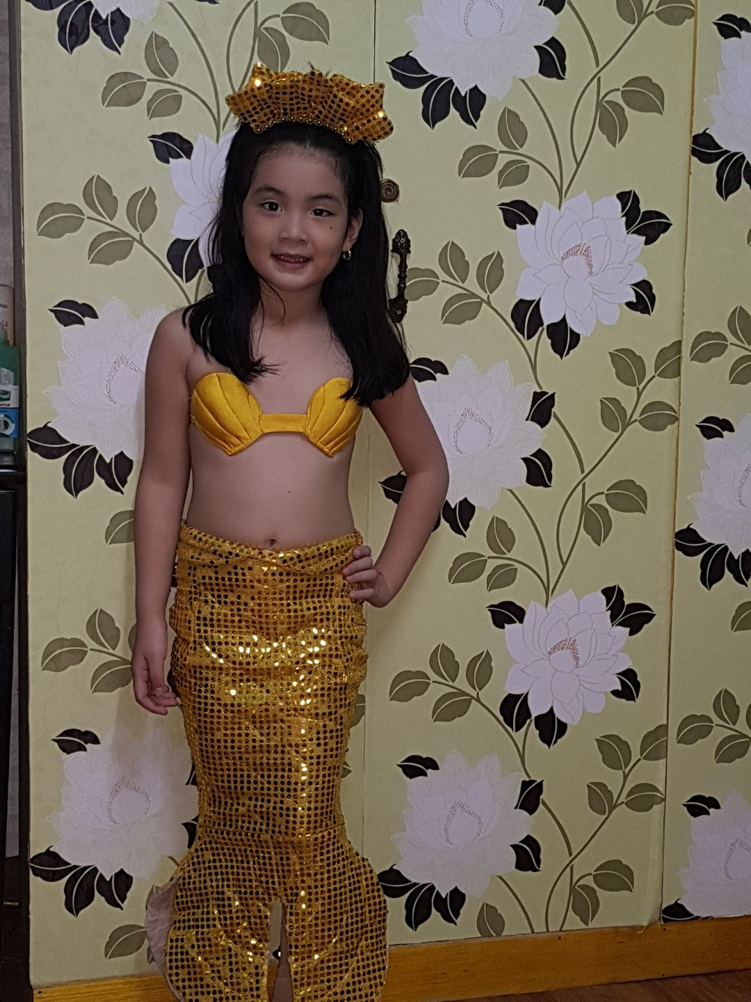 Mermaid photoshoot costume