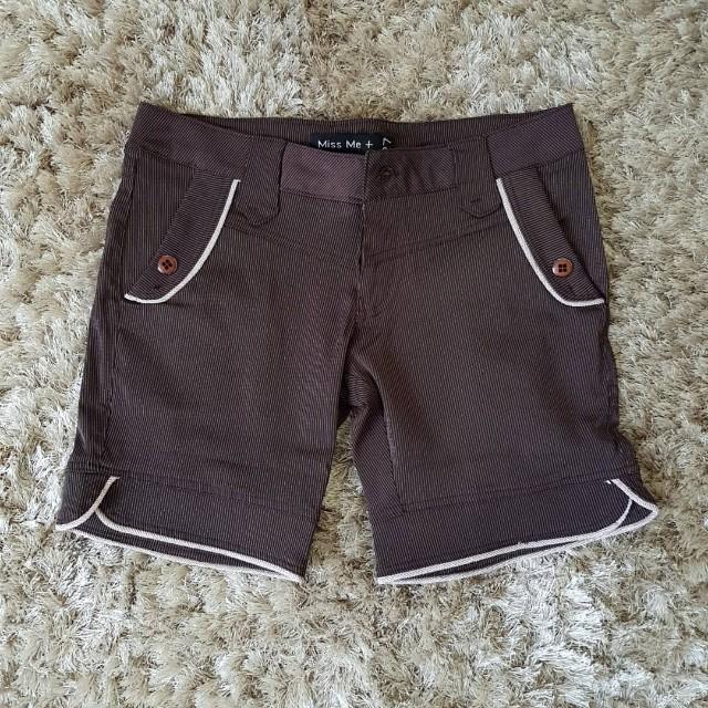 Miss Me Chocolate Short Pants