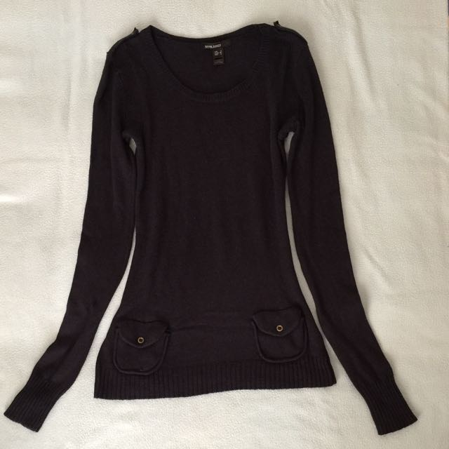 MNG Basic Knitted Long Sleeve Top
