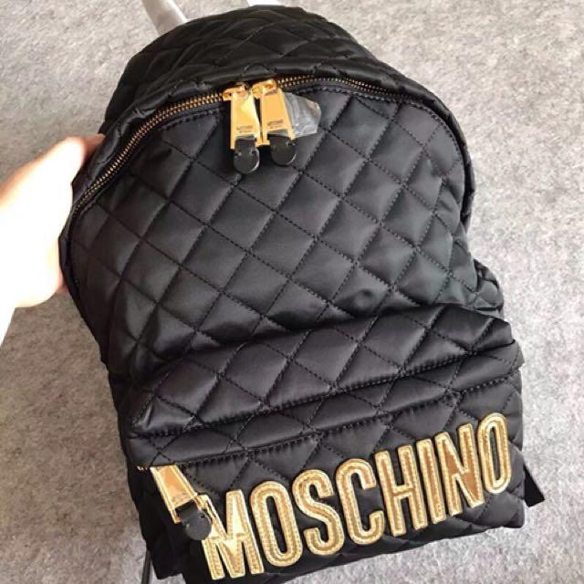Moschino 經典尼龍後背包 全新正品