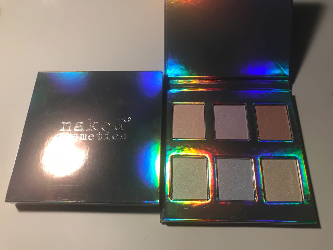 Naked cosmetics holographic highlighter palette