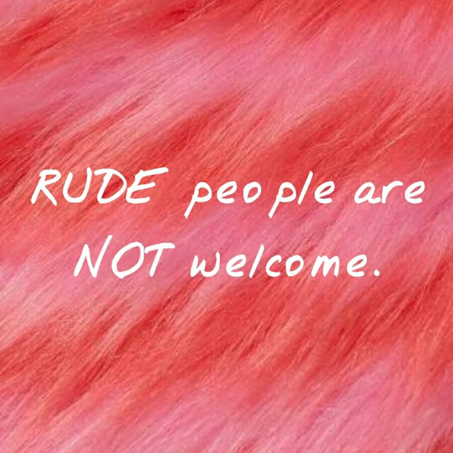 Nice people only