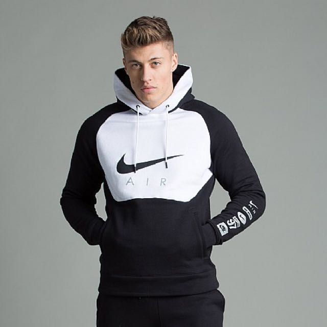 exclusive deals best service the cheapest NIKE AIR HYBRID SWEATSHIRTS HOODIE !, Men's Fashion, Clothes ...