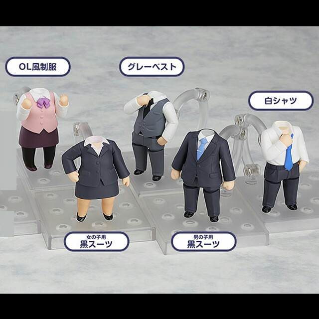 [OFFICIAL] Nendoroid More Dress Up Suits (5 + 1 Special Units)