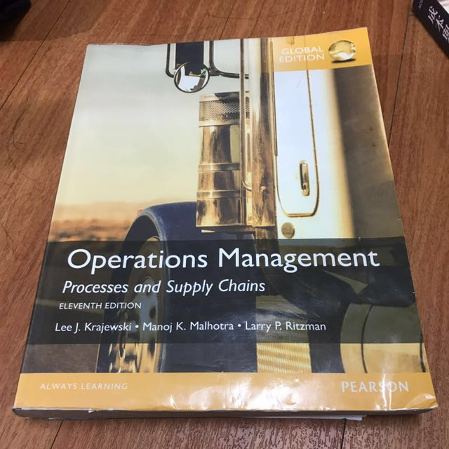 Operations Management #出清課本