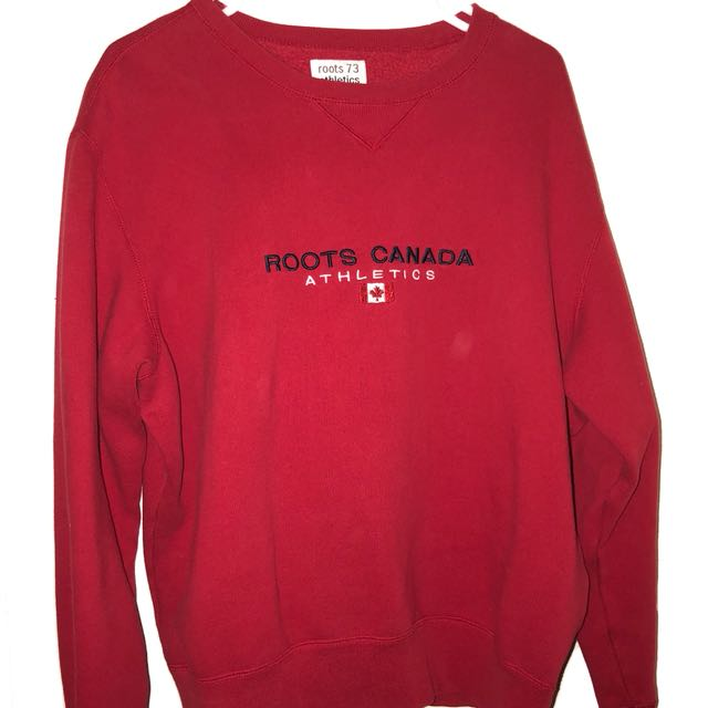Oversized Vintage Roots Pullover