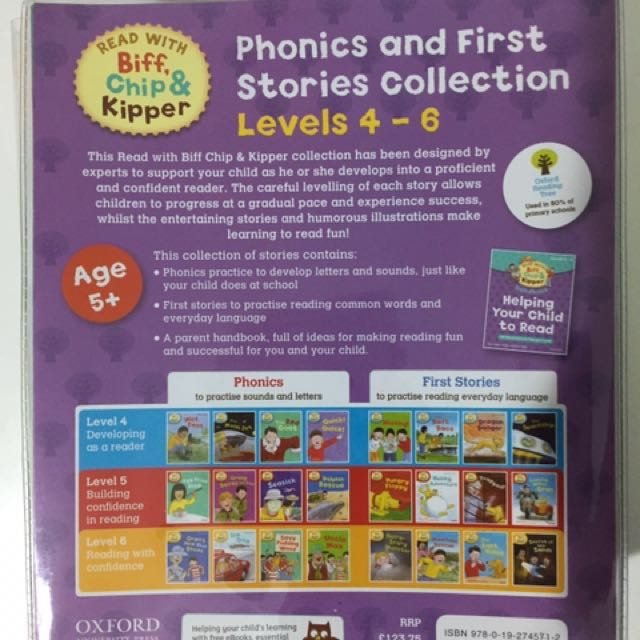 Oxford Reading Tree Read with Biff, Chip & Kipper Level 4-6