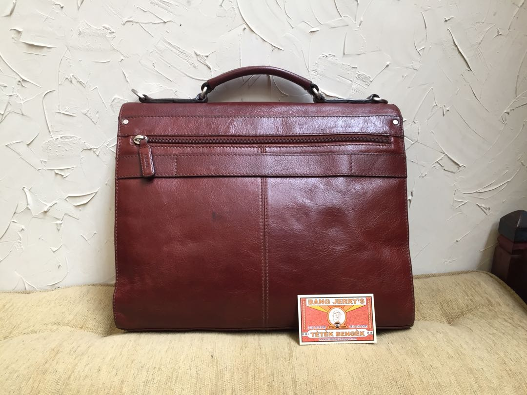 REPRICED..... Picard Briefcase Retro Bag... Tas Kerja Picard