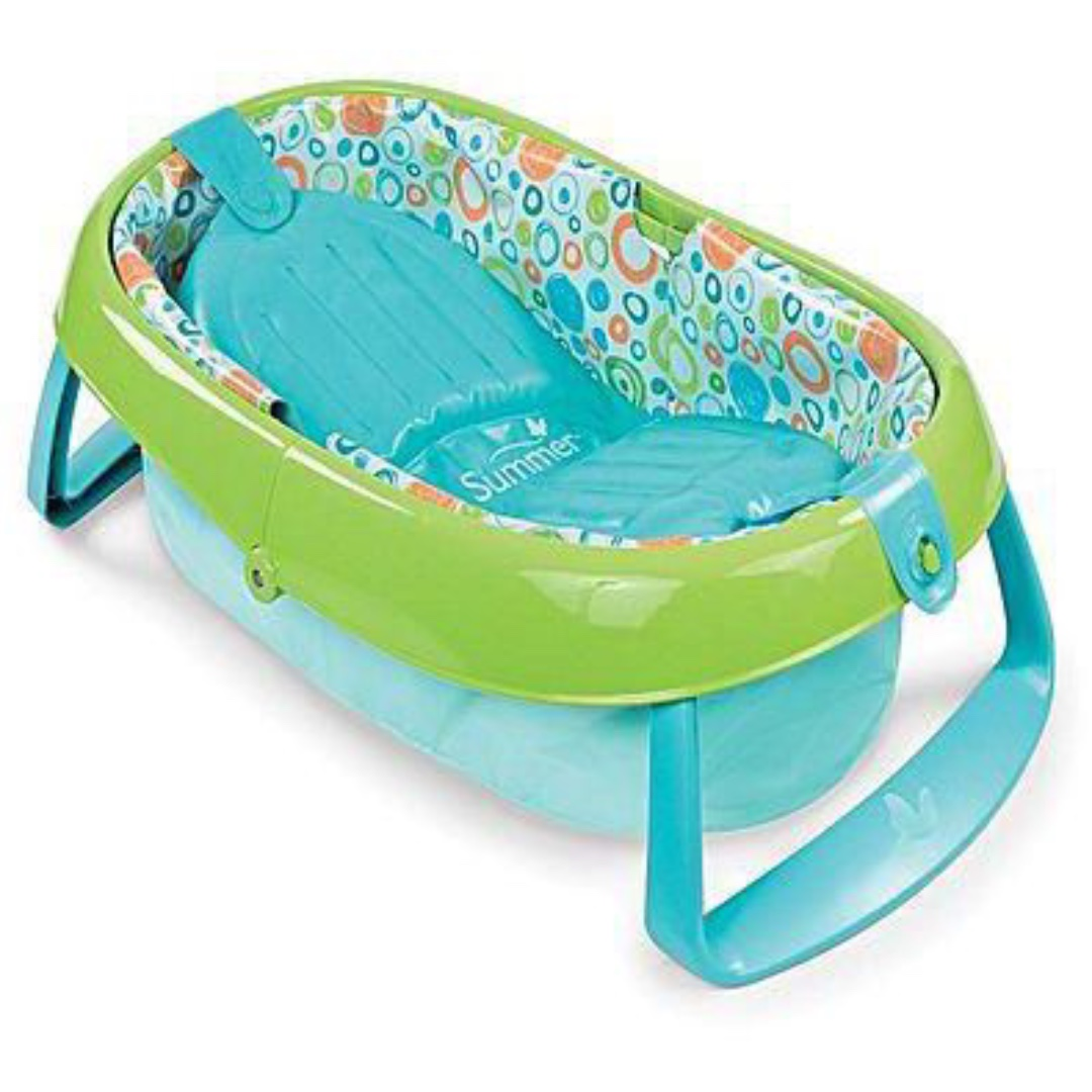 Portable Baby Bath Tub by Summer Infant - Item No: DCL175656, Babies ...