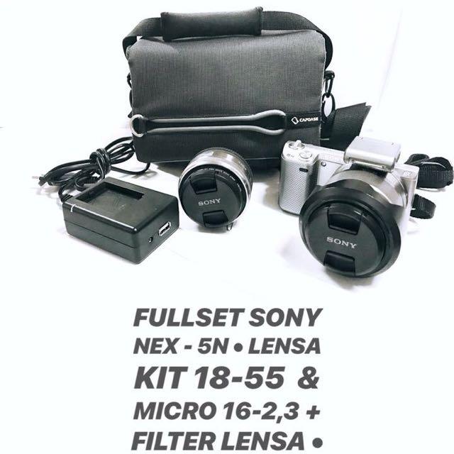 PRELOVED DIJUAL kamera Sony NEX-5N