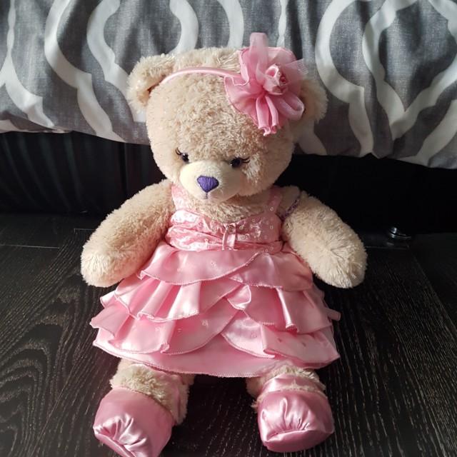 Princess Bear - build a bear