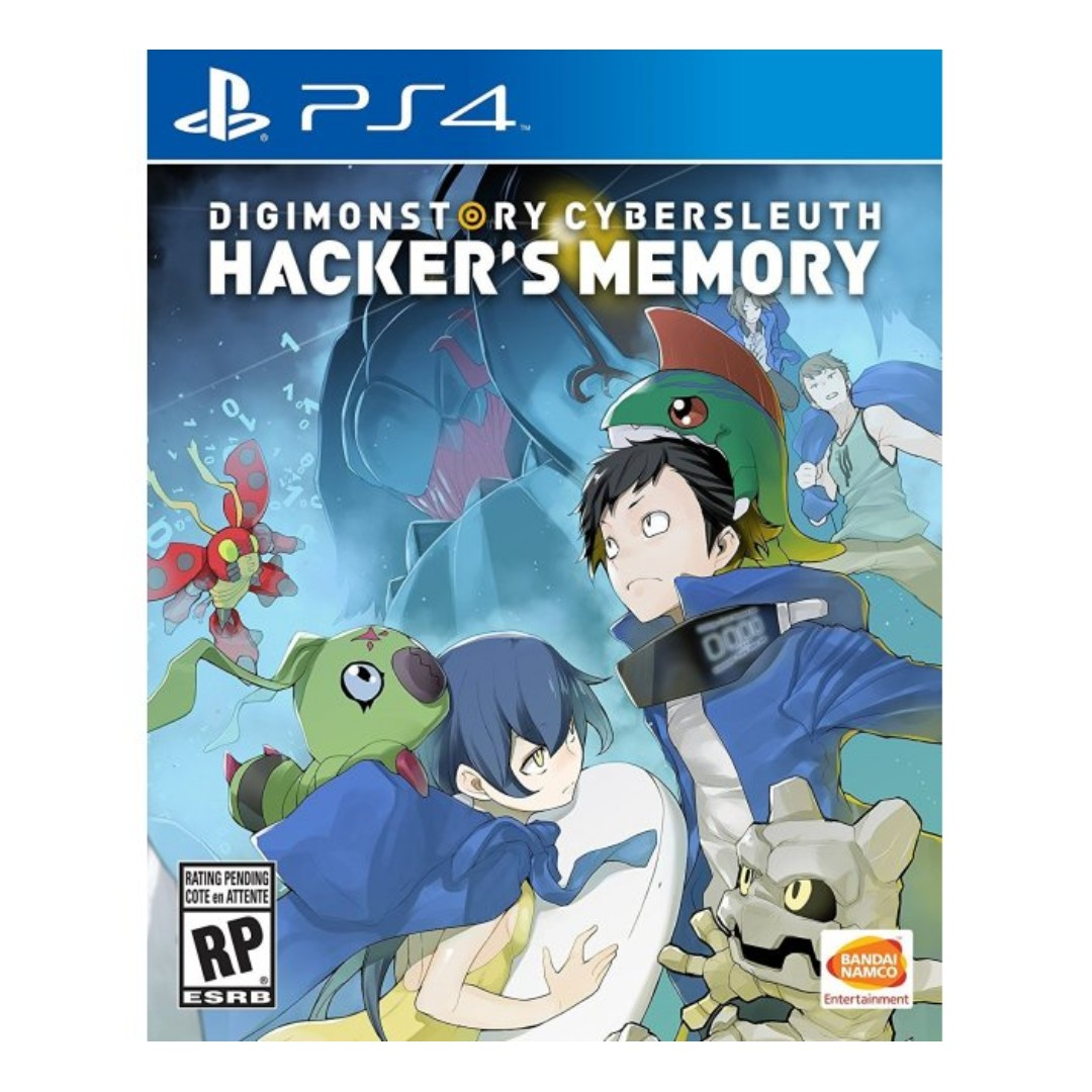 PS4 Digimon Story Cyber Sleuth: Hacker\'s Memory (R3), Video Gaming ...