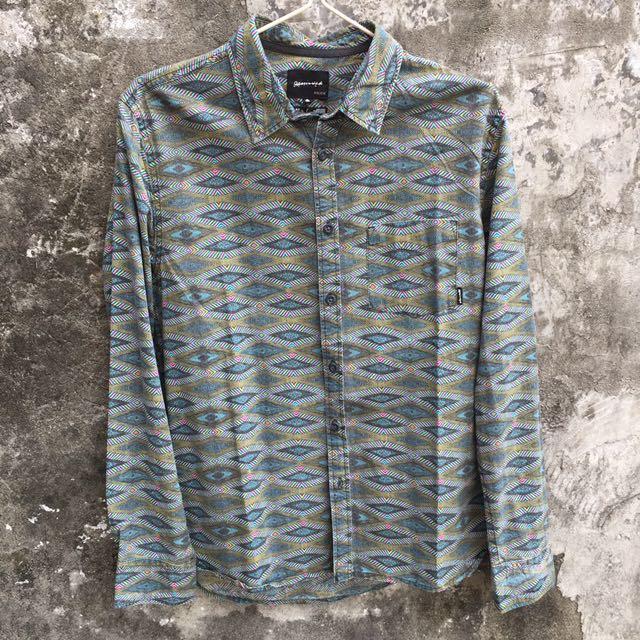 ⬇️降價Quiksilver 幾何圖形襯衫