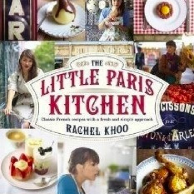 Rachel Khoo's My Paris Kitchen cookbook