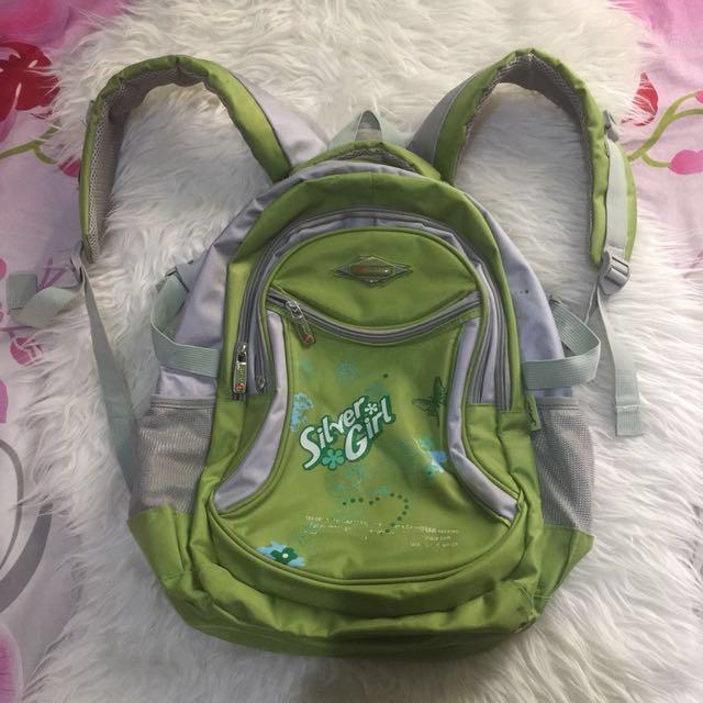 Ransel / tas gendong hijau
